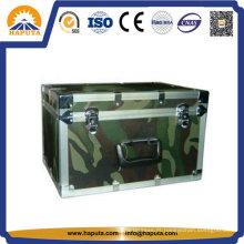 Mala de alumínio armazenamento Metal caso para militar Hf-1207