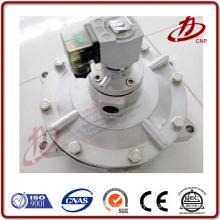 High pressure 3 way solenoid gate valve 12v