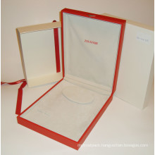 Leather Necklace Boxes with Logo for Packing