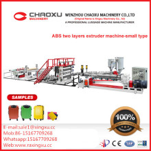 ABS Two-Layers Plastic Sheet Plate Extruder Production Line Machine (smaller type)