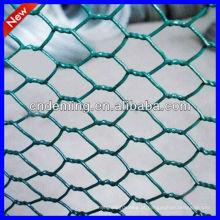 DM galvanizado malha de arame hexagonal tecido