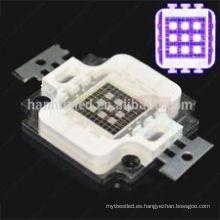 Alibaba expreso diodo láser llevado 10w 390-395nm uv de Alibaba