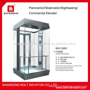 transparent lift transport elevator used elevators for sale