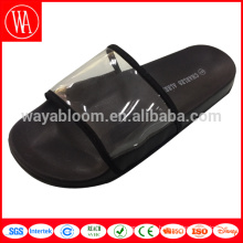 plastic sandals upper transparent massage plastic bathroom slippers