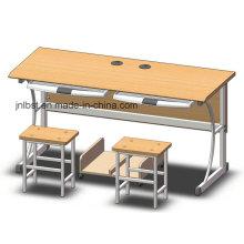 Экологичный двухместный компьютерный стол