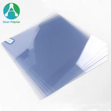 OCAN 0.8mm clear plastic pvc rigid film