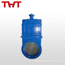 Safe and reliable knife gate slurry sluice valve cad drawings price