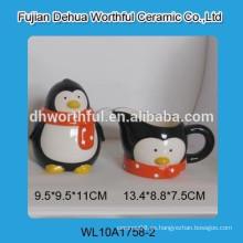 Fábrica directamente al por mayor jarra de leche de cerámica de alta calidad con la olla de azúcar