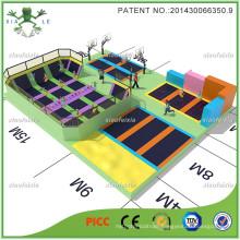 Updated Basketabll Large Trampoline Park for Sports