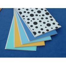 Plástico laminado painéis de teto para ambientes de interior