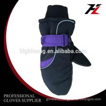 Comfortable Waterproof boys ski winter gloves