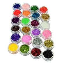 Farbglitterpulver für Nägel / Kosmetik / Industrie