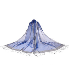 Newest Fashion 100% Silk Long Scarf for Lady