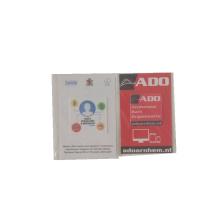 Пользовательские микрофибры очиститель экрана стикер opp пакет