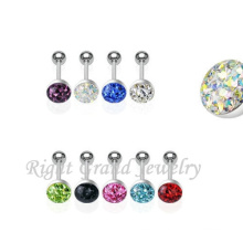 Unique Design Body Piercing Jewelry Factory Custom Tongue Rings