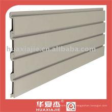 PVC slatwall panel /garage wall panel