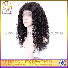 For Black Women 100% Real Virgin Indian Human Hair Remy Full Lace Wholesale Wig Cap