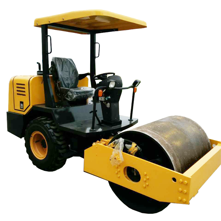 road roller compactor machine