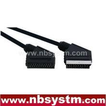 21-polige Scart-Stecker-Stecker auf Scart-Buchse Buchse Kabel 1,5m