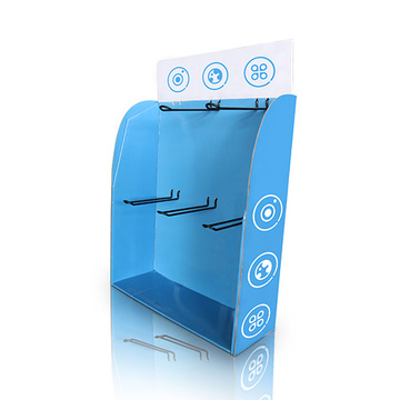 Desktop-Wellzähler-Display mit Stöpseln