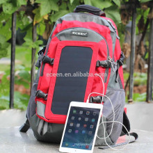 Alibaba fabrication de sac à dos solaire, échantillon gratuit pour sac à dos solaire