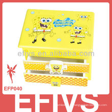 High-end barato e de alta qualidade caixa de jóias