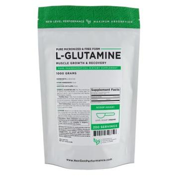 thorne research l-glutamina 90 cápsulas