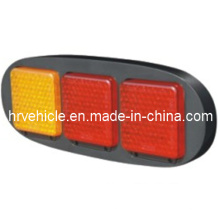 Lámpara de combinación LED con indicador de cola de parada para camión