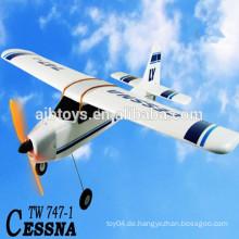 Rc Flugzeuge zum Verkauf cessna elektrisches rc Flugzeug 2.4G EPO CESSNA (TW747-1) berühmtes elektrisches Flugzeug rc Modell lanyu cessna