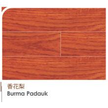 Original de alta calidad Birmania Padauk Engineered and Laminat Flooring