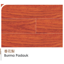 Burma Padauk Engineered Plywood Laminated Wood Flooring