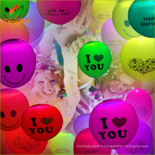 Low Price Wedding Decoration latex Led Balloon with CE and ROHS