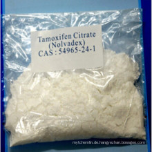 Anti-Estrogen-Steroide Tamoxifen-Citrat zur Krebsbehandlung CAS 54965-24-1