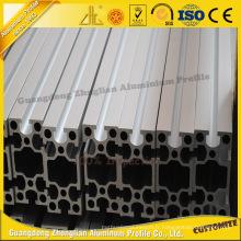 Profil en aluminium extrudé industriel de 45 * 90 avec ISO9001