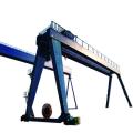 25-тонный подъемный кран на козлах из стальной фермы