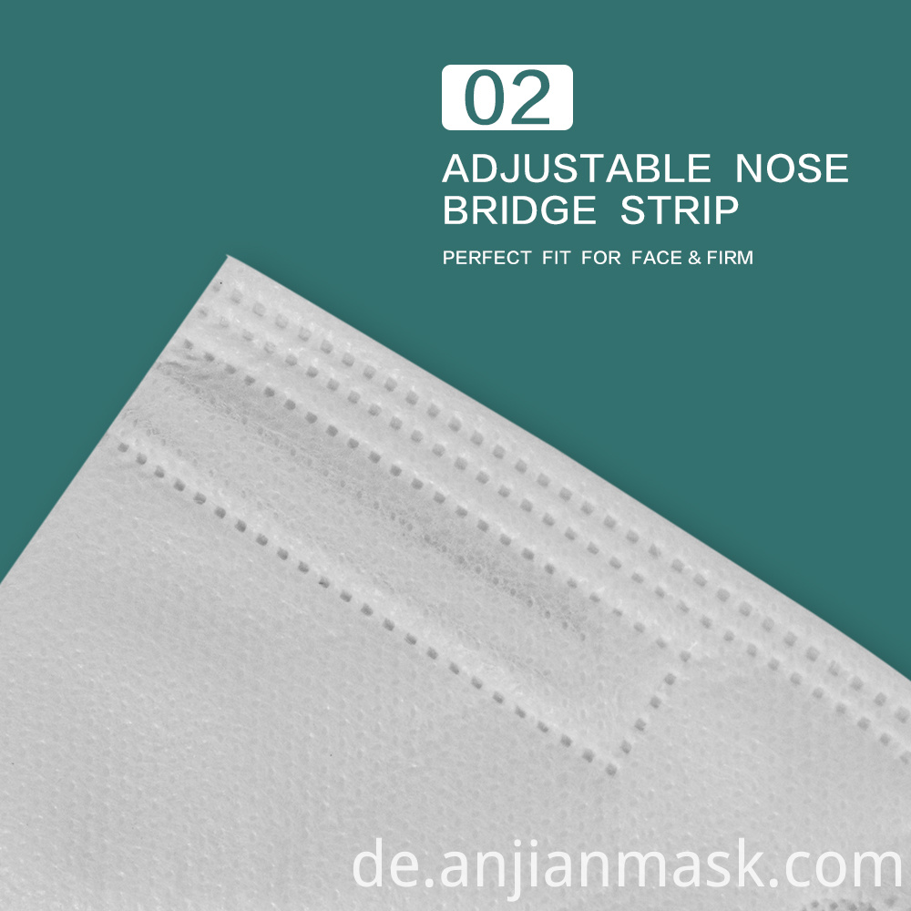 5 Layers Non-Woven Disposable Face Mask