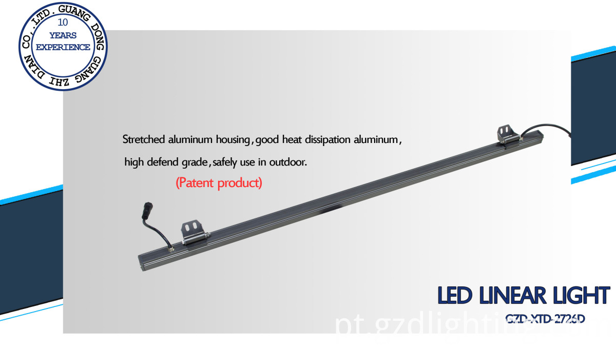 IP65 led rigid bar light