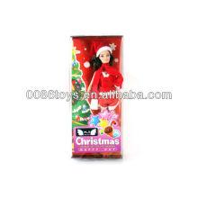 Boneca de Natal animada para bonecas de Natal