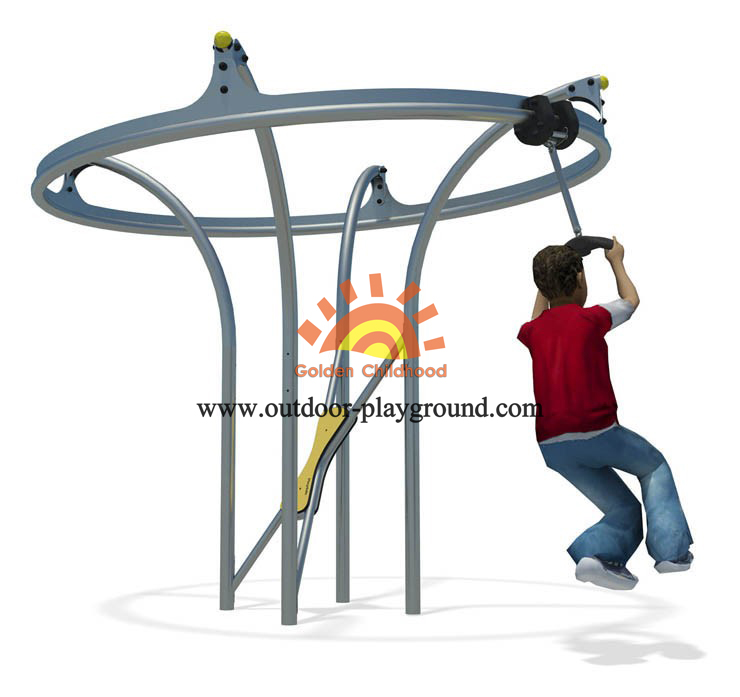 Outdoor Dynamic Playground Structure