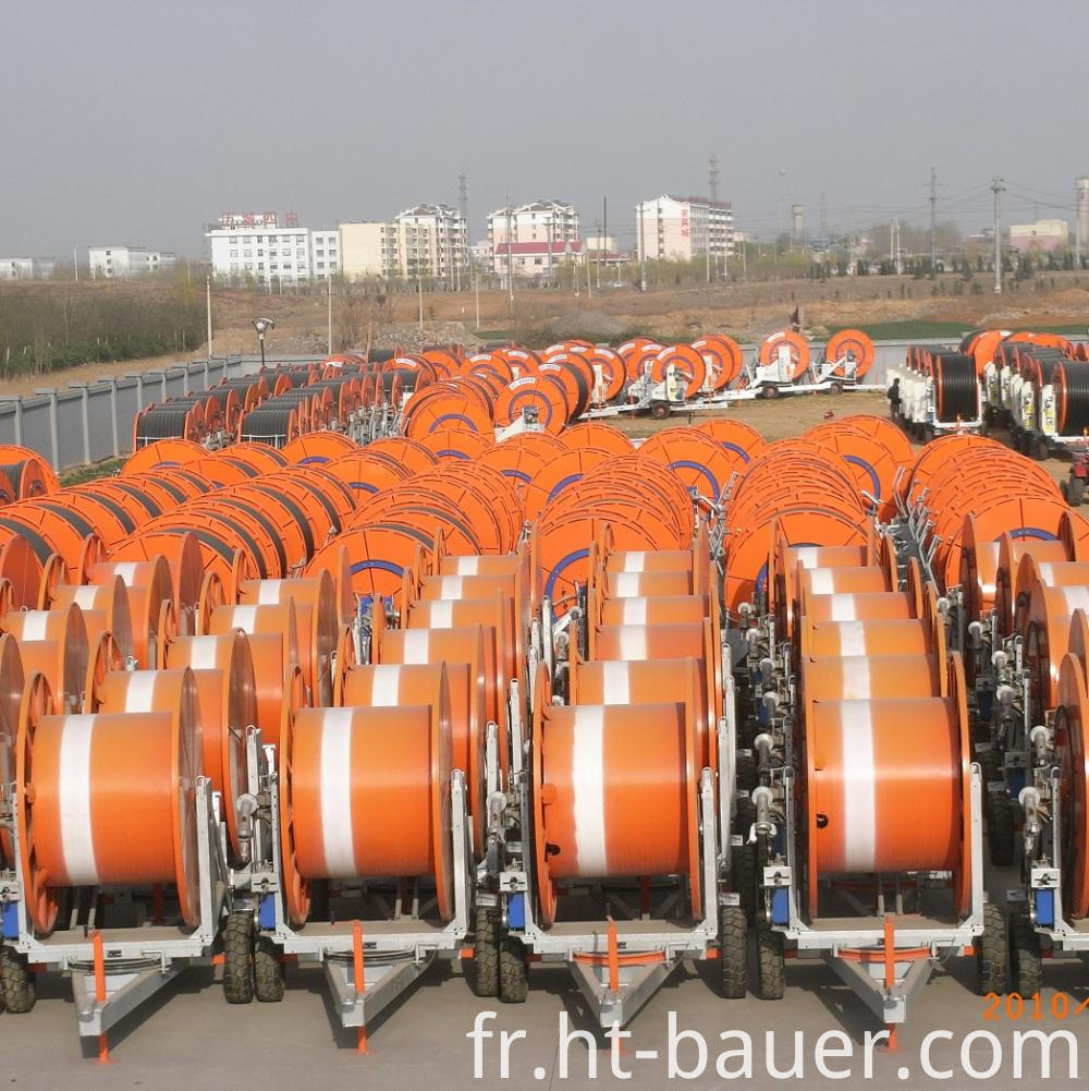 Hose Reel Irrigation Stock