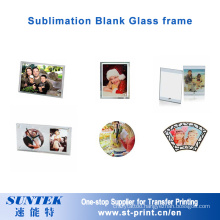 Sublimation Heat Transfer Printing Crystal Photo Frame Blank Gift