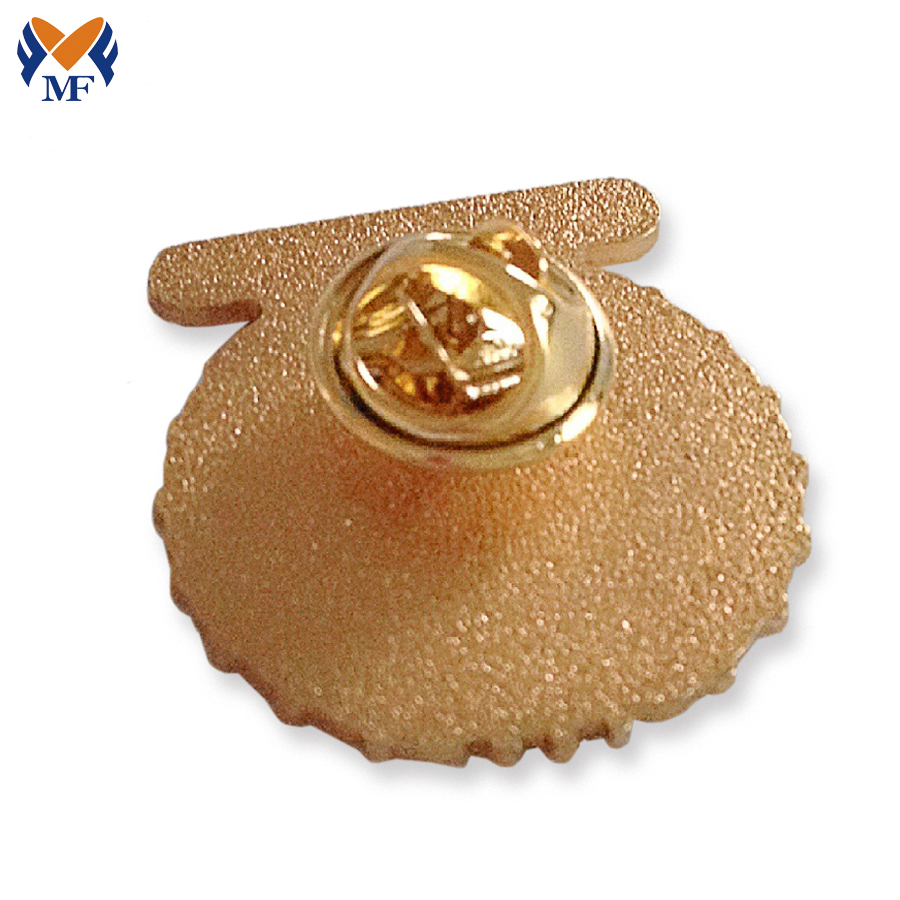 Gold Plating Button Pin