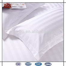 Hot Sell Factory Made 100% Cotton 300T 3 Stripe Hotel Pillow Cases