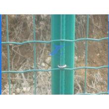 ПВХ Фабрика разделительная защищены проволочной сетки