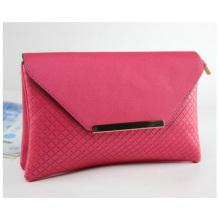 Carteira promocional feminina de PU, carteiras multifuncionais de moda PU rosa