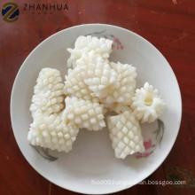 Wholesale frozen giant squid flower pineapple cut thailand