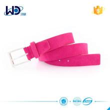 2015 Soft equestrian belt Suede Leather belt golf belt