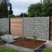 le mur de soutènement galvanisé de panier de Gabion de cage de pierre de gabion galvanisé, paniers en pierre pour des murs de soutènement 2.0mm