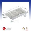 grille métallique découpable dentelée / grille en acier HDG