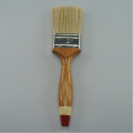 Ren ull Bristle Angle Trähantera Paint Brush